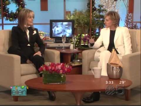 Diane Keaton on the Ellen DeGeneres show - 2005.12.12.