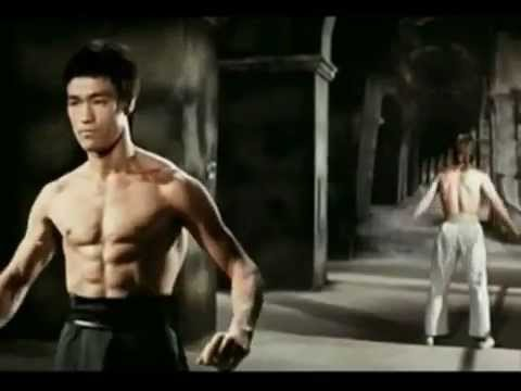Famous Badass fight! Bruce Lee vs Chuk Norris  ( Enter the Dragon) ( HD )