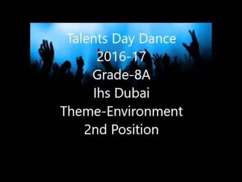 Talents Day 2016-17(Second Prize)Theme-Environment