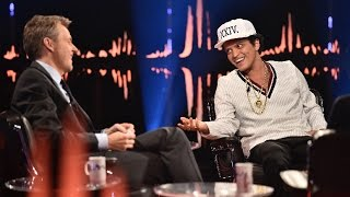 Interview with Bruno Mars: - That's the hardest question anyone has ever asked | SVT/NRK/Skavlan