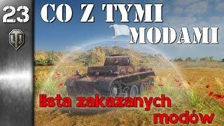 Lista zakazanych modów - News World of Tanks