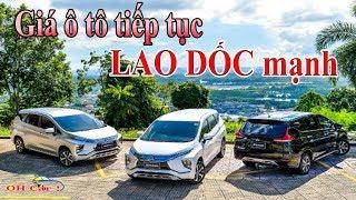 Giá ô tô tiếp tục LAO DỐC mạnh
