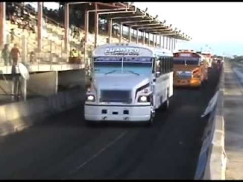 MUNDODIESELTV.COM GOMEZ BUS LINE INVADE LA PISTA DE PONCE