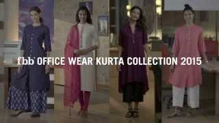 fbb Festive 2015 | Office Wear Kurta Collection
