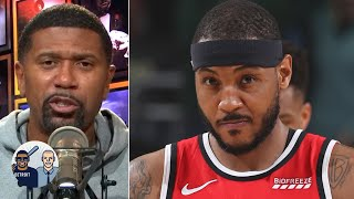 Carmelo Anthony had to humble himself before returning to the NBA - Jalen Rose | Jalen & Jacoby