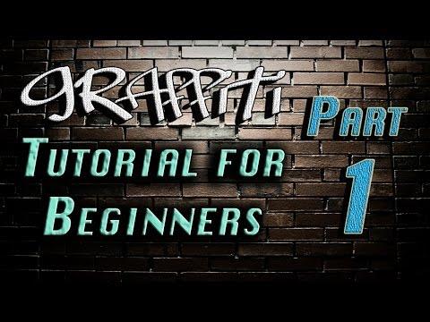 Graffiti Tutorial for Beginners (Part 1) - Steve's Art Studio