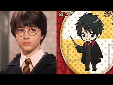 Japan Turns Harry Potter Characters into Manga