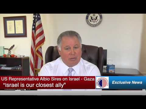 US Rep. Albio Sires makes his position clear on Israel and Gaza
