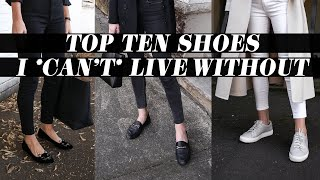 TOP 10 SHOES I *CAN'T* LIVE WITHOUT: My Shoe Collection 2019 + Black Friday Sales | Mademoiselle