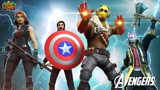 AVENGERS - END GAME!!! - Fortnite Short Films