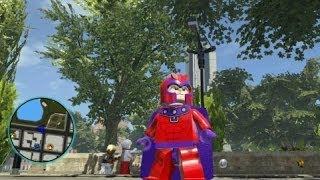 LEGO Marvel Super Heroes - Magneto Free Roam Gameplay