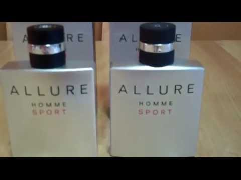 Real vs Fake Part 3 Chanel Allure Homme Sport Fragrance/Cologne