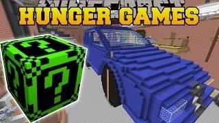 Minecraft: GARAGE HUNGER GAMES - Lucky Block Mod - Modded Mini-Game