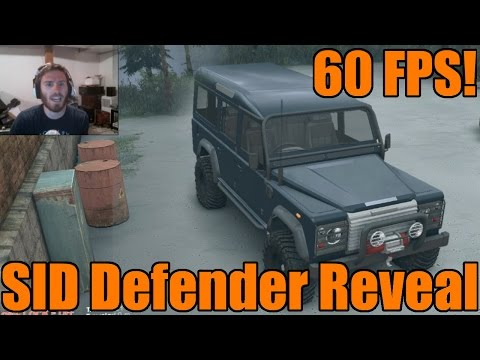 Spin Tires | SID Land Rover Defender | 60 FPS Preview