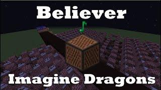 download lagu Believer - Imagine Dragons - Minecraft Note Blocks 1.12 gratis