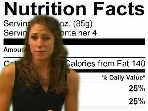 Nutrition Facts Labels, How to Read, FAQ, About Part 1