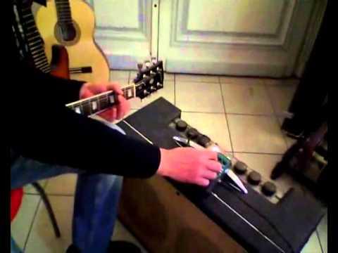 jacques tubeblower overdrive on vintage gretsch chet atkins amp