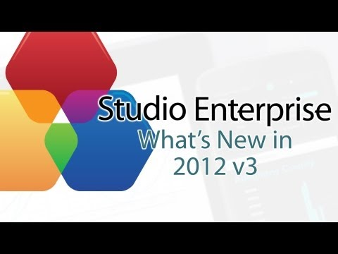 What's New in ComponentOne Studio Enterprise 2012 v3