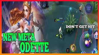 Odette Guide 1 | Try This New Role For Odette | Master the Basics | Odette Gameplay | MLBB