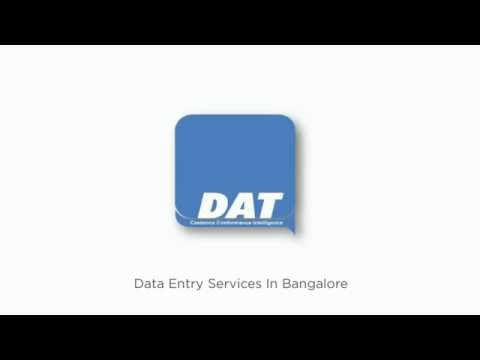 Data Entry Service in Bangalore, Data Entry Outsourcing
