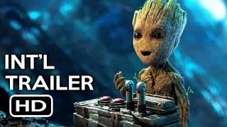 Guardians of the Galaxy Vol. 2 Official International Trailer #2 (2017) Chris Pratt Movie HD