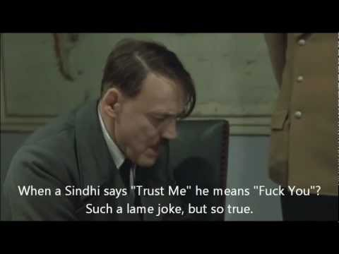 Hitler Gets Angry When Sindhi