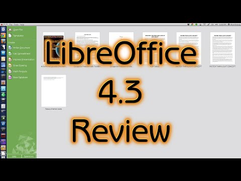LibreOffice 4.3 Review
