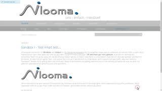 ©nilooma - HowTo 3 - Inhalte bearbeiten: Inhalt verknüpfen