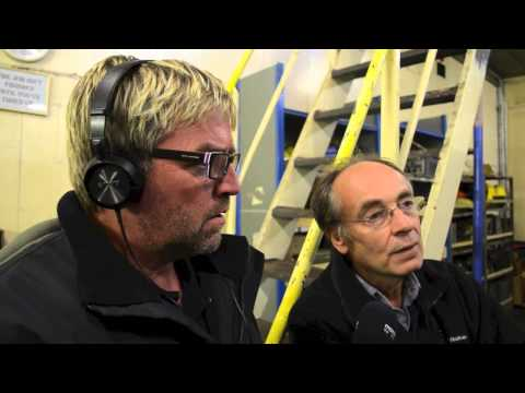 Manx Radio on the Ross Revenge