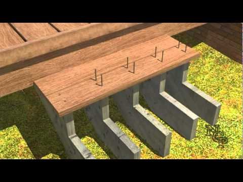 6 Composite Deck Building Stair Installtion Youtube