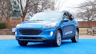 All-New Ford Escape // First look