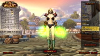 WoW Ascension | Melee Healer | BRD Dungeon /w No Items (playing naked)
