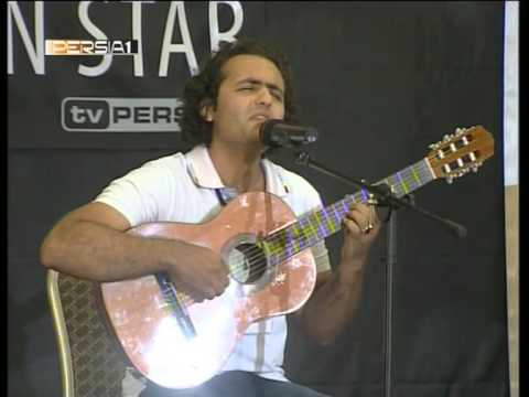 Reza Shirkani - First Great Performance,tv Persia One, Next Persian Star, 2009 10 14 video