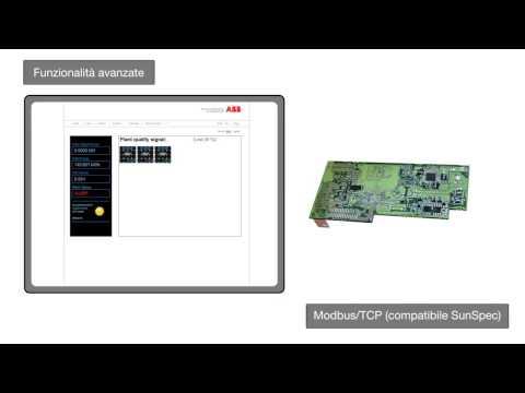 Monitoraggio e comunicazione per inverter fotovoltaici ABB; VSN300 Wifi Logger Card