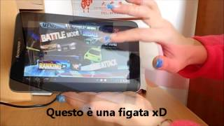 Tablet Lenovo A2107A  199euro  Scheda tecnica e video illustrativo del funzionamento