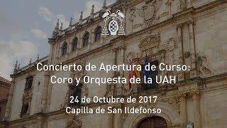Concierto de Apertura de Curso · 24/10/2017