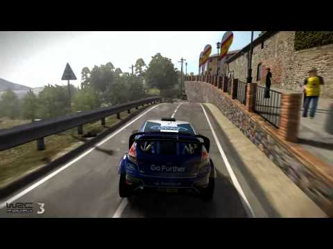 WRC 3 - new gameplay of Spain track