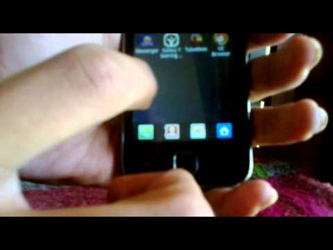 samsung galaxy y (GT-S5360) android 2.3.6 review and gameplay(doodle