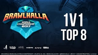 (2017) Brawlhalla World Championship - 1v1 Top 8 - #BCX17