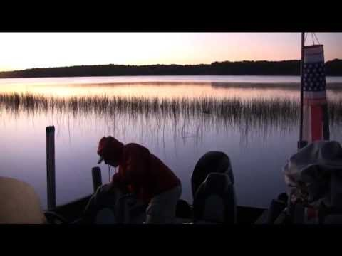 Fishing on Nokay Lake in Minnesota
