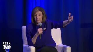 WATCH: Pelosi speaks at Attorney General forum