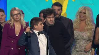 David's Vlog Wins Ensemble Cast - Streamys 2018