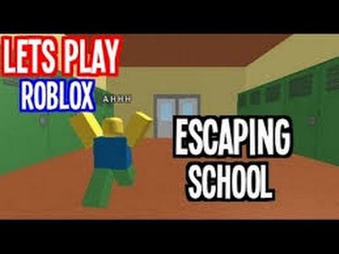 Escape School Obby!~ROBLOX~Roblox Gamer