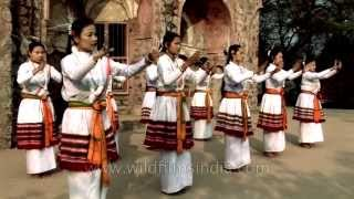 Ritual dance of Manipuri priestesses - Maibi Dance