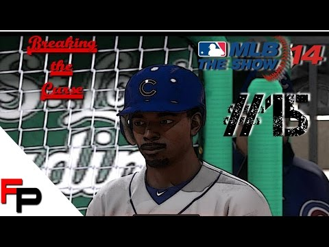 MLB 14 The Show - Fantasy Draft Chicago Cubs Franchise - Ep. 15 vs  St. Louis Cardinals