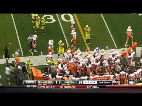 Tennessee Oregon Game 2013