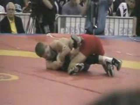 Henry Cejudo vs Nick Simmons 55kg finals @ 2007 US Nationals Video