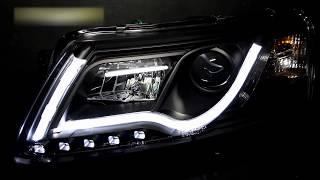 Тюнинг фары Ауди А6 С6   Headlights Audi A6 C6