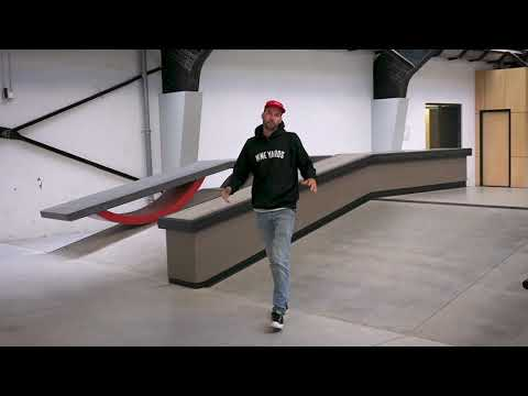 The Special Features Of The Olympic Skatepark of The Netherlands (Trainingscentrum Den Haag)