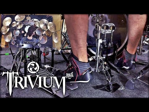 PEDAL DUPLO CAM | TRIVIUM - THE SIN AND THE SENTENCE | DRUM COVER | PEDRO TINELLO thumbnail